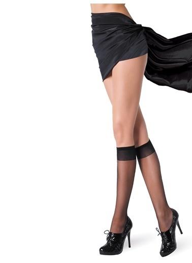 Pierre Cardin 2'li Mat Dizaltı Çorap Siyah
